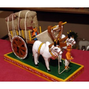 Wooden Bullock Cart