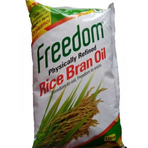 FREEDOM RICE BRAN OIL - Physically Refined