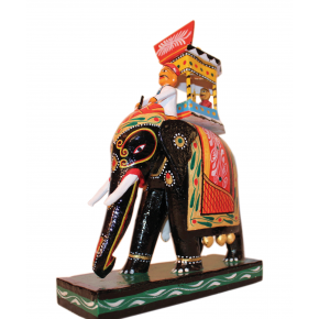 Wooden Elephant Ambari (Kondapalli)
